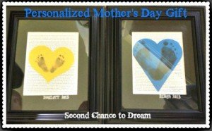 Personalized Mother's Day Gift