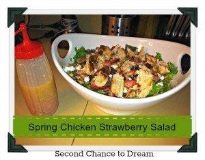Spring Chicken Strawberry Salad