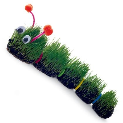 very hairy caterpillar craft photo 420 FF0403ALMFA04 15 Kids Earth Day Crafts