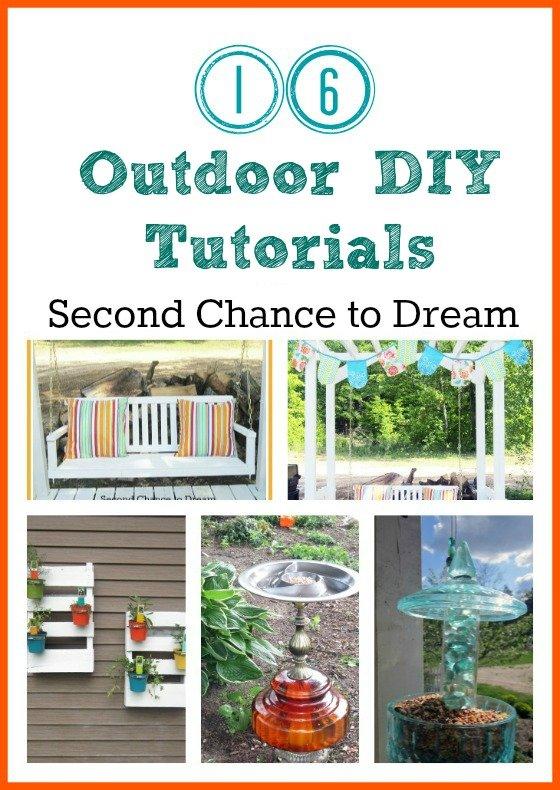Second Chance to Dream: Outdoor DIY Tutorials #gardening #gardenart #outodoor