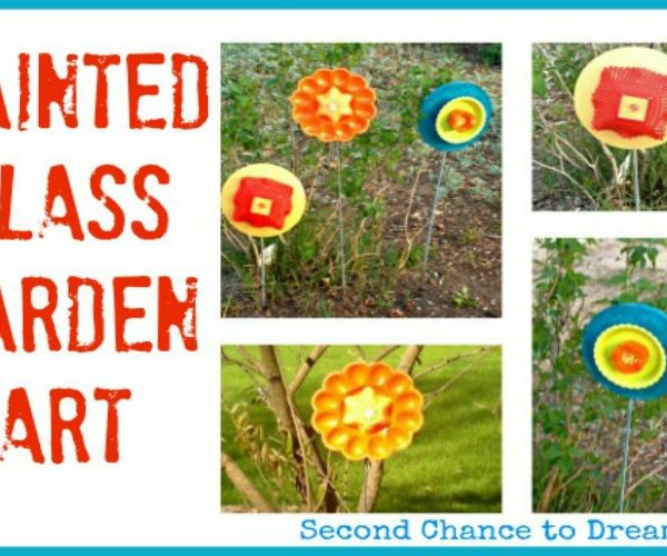 Second Chance to Dream: Painted Glass Garden Art