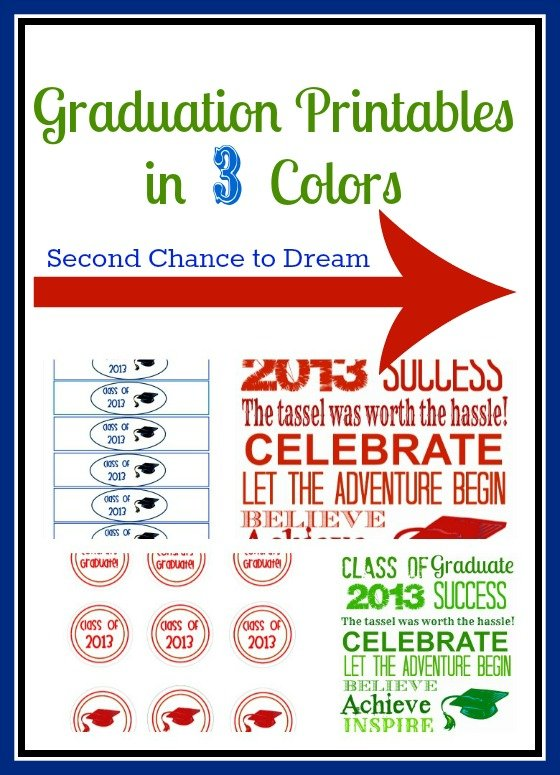 graphic about Free Graduation Printable identify Minute Possibility In the direction of Aspiration - Absolutely free Commencement Printables in just 3