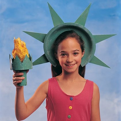 Liberty Crown and Torch