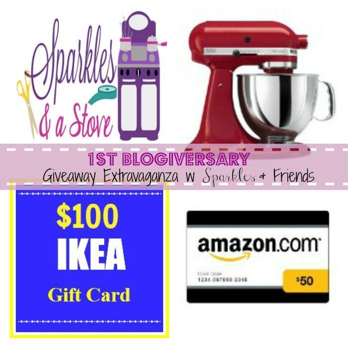 Blogiversary Giveaway Image