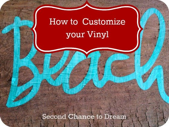 {How to Customize your Vinyl the DIY Way}