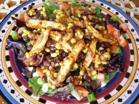Fiesta Chicken Salad. Photo by DuChick