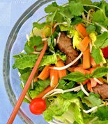 Waterfall Grilled Beef Salad