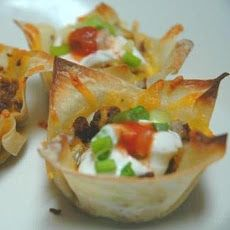 Chicken Taco Cups Recipe