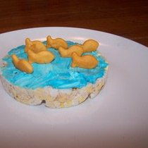 goldfish crackers rice cakes