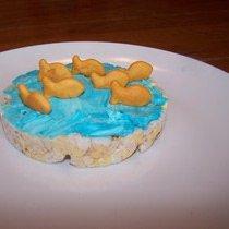 goldfish crackers rice cakes