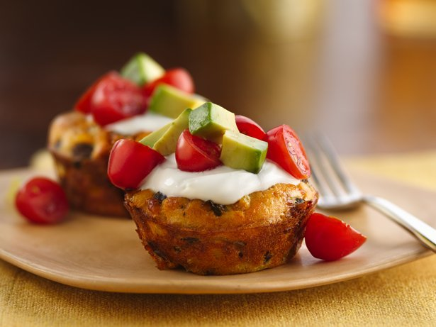 Impossibly Easy Mexican Mini Veggie Pies