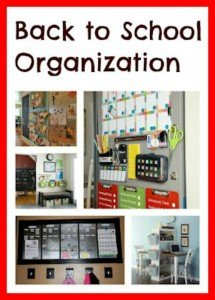 Get Organized for Back to School…