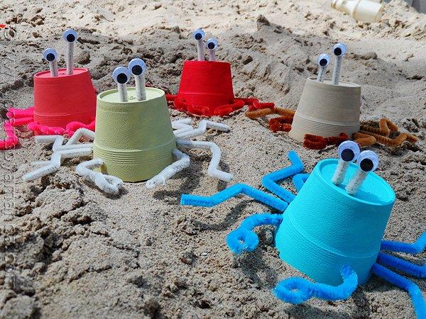 Styrofoam Cup Sea Crabs