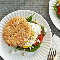 Mediterranean Breakfast Sandwiches