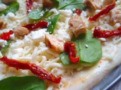 Mediterranean Herb Chicken Pizza