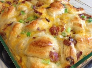 Baked Breakfast casserole Recipe