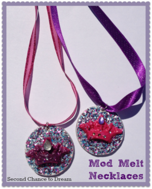 Second Chance to Dream: Mod Melt Necklace