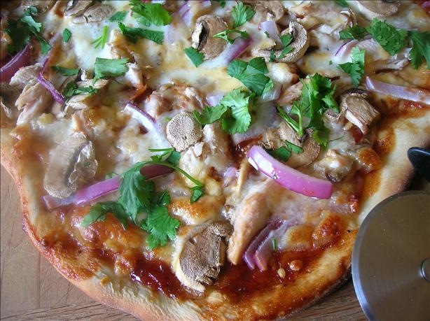 BBQ Chicken Pizza - California Pizza Kitchen Style. Photo by Pam-I-Am