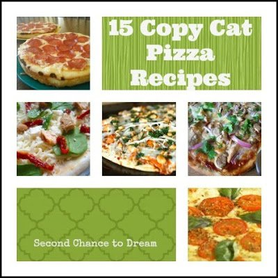 15+Copy+Cat+Pizza+Recipes {Featured On}