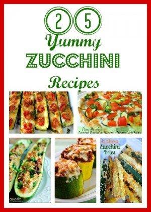 Second Chance to Dream: 25 Yummy Zucchini Recipes #zucchini