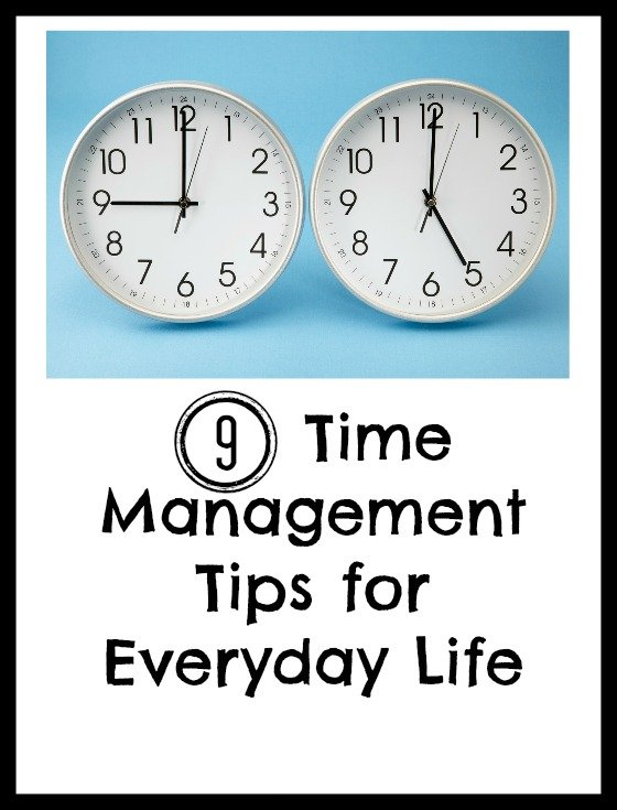 Time Management tips to organize your time as part of the 10 best organizing tips from Travel Parent Eat