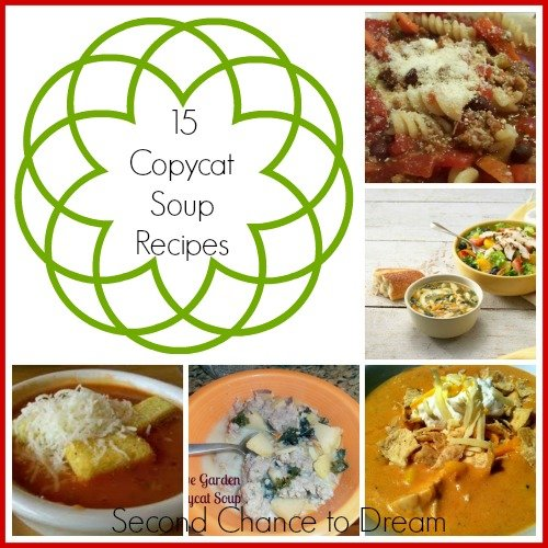 15 Copycat Soup Recipes