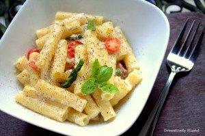Creamy Alfredo Sauce by: Giustina of Domestically Blissful