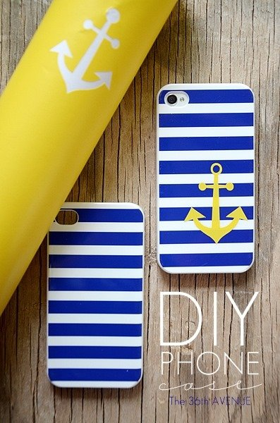 DIY Phone Case Tutorial by the36thavenue.com