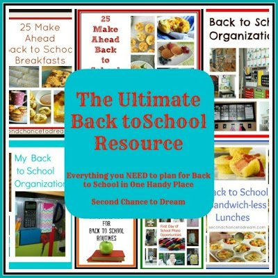 Second Chancet to Dream: The Ultimate Back to School Resource
