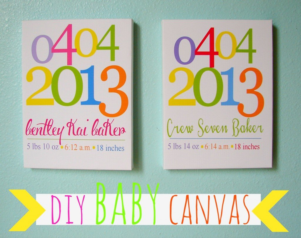 baby canvas