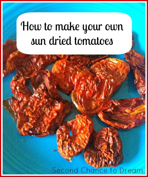 Second Chance to Dream: How to Make Sun dried Tomatoes + 4 Recipes