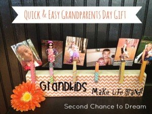 Quick & Easy Grandparents Day Gift