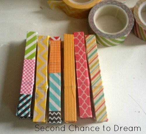 washi+tape Quick & Easy Grandparents Day Gift