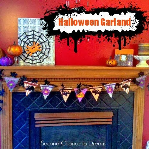 Garland+Title Quick & Easy Halloween Garland
