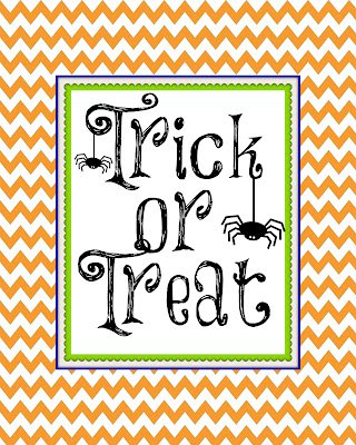 Trick+or+Treat+8+x+10+copy Quick & Easy Halloween Garland