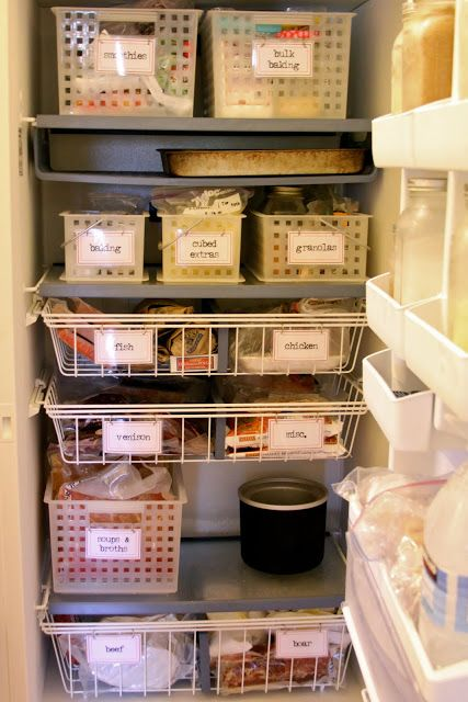 Homestead Revival: Upright Freezer Organization