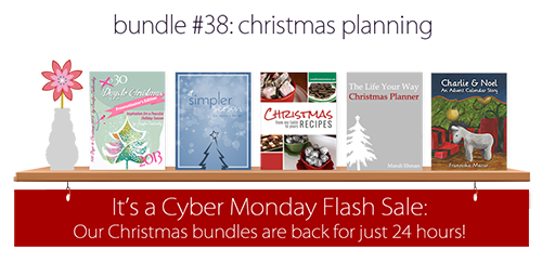 Bundle #38: Christmas Planning