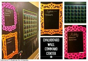 chalkboard+wall+collage
