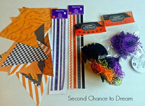 garland+supplies Quick & Easy Halloween Garland