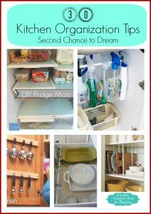 30 Kitchen Organization Tips