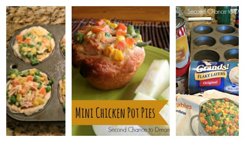 Mini Chicken Pot Pies- A Quick & Easy Dinner