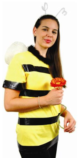 A.C. Moore No Sew Bee Costume #halloween #diy #costume