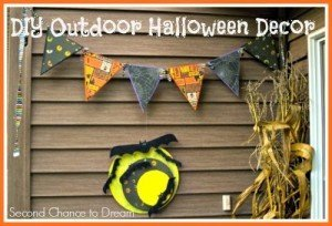 DIY Outdoor Halloween Decor