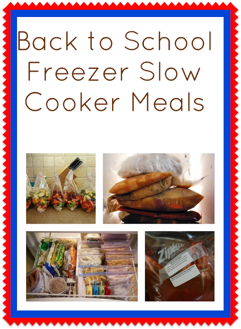 Freezer Slow Cooker Meals