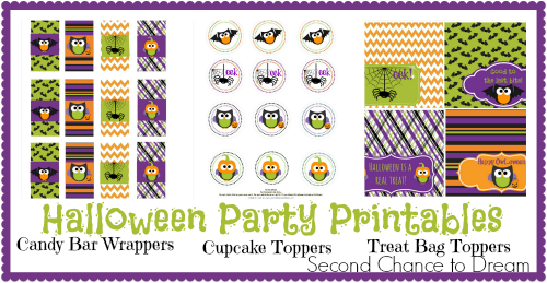 Second Chance to Dream: Halloween Party Printables