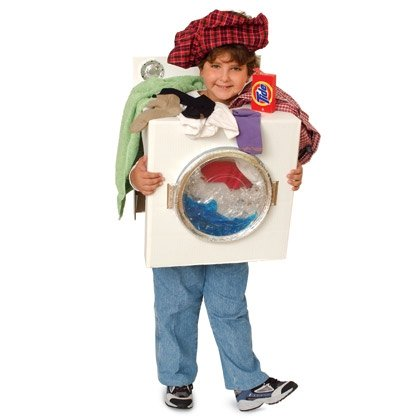 Washing Machine Halloween Costume for Kids