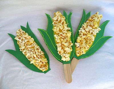 cornstalk 15 Kids Halloween Crafts 2