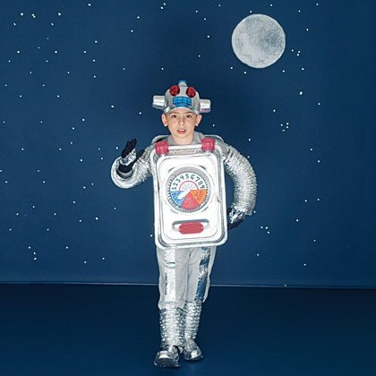 Retro Robot Halloween Costume