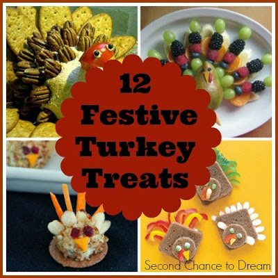 12+Festive+Turkey+Treats1 {Featured On}