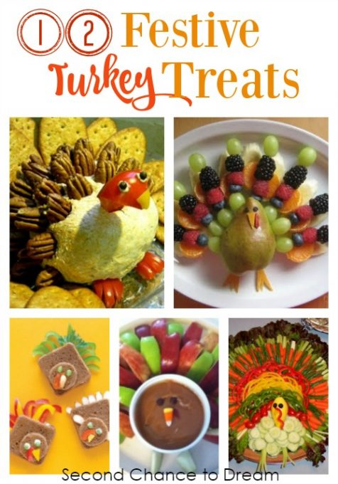 Second Chance to Dream: 12 Festive Turkey Treats to celebrate your Thanksgiving Holiday #Thanksgiving